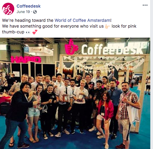 Coffeedesk example
