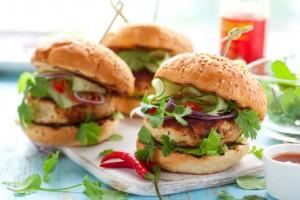 Fancy Chicken Burger