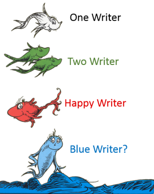 one writer two writer