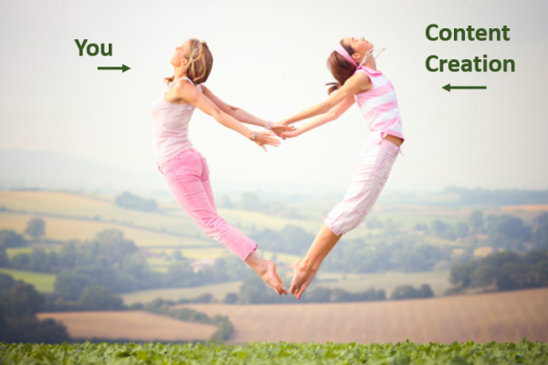 content creation is your new best friend