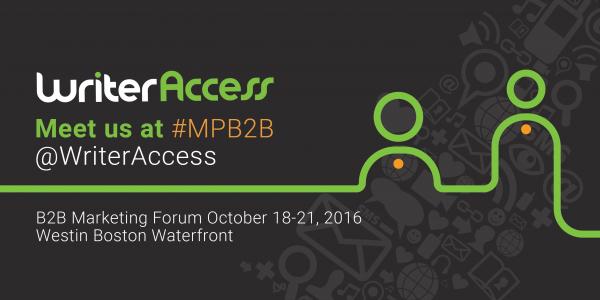 Meet Us at #MPB2B