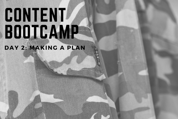 CONTENT BOOTCAMP 2