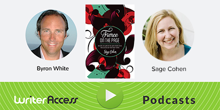 WriterAccess Podcast: Fierce on the Page Author Sage Cohen