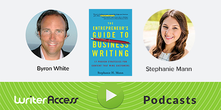 WriterAccess Podcast: Author and Content Strategist Stephanie Mann